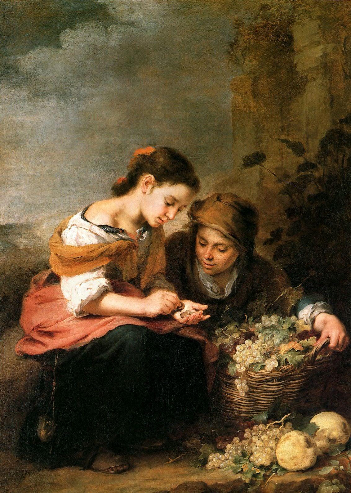 Bartolomé-Esteban-Murillo-The-Little-Fruit-Seller