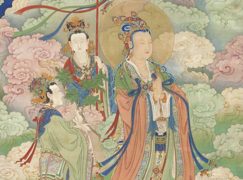Chinese Dao Bodhiruma - Qing Dynasty