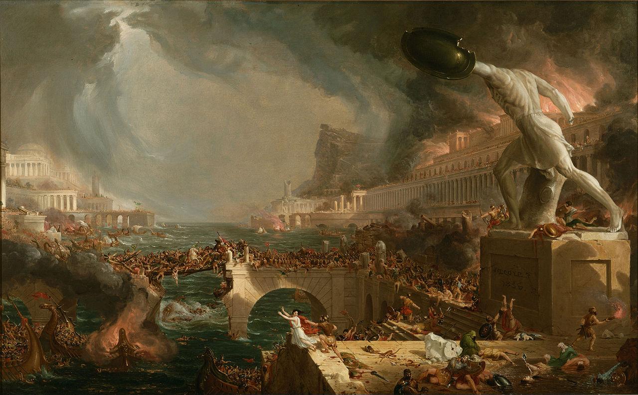 The Consummation of Empire; Destruction
