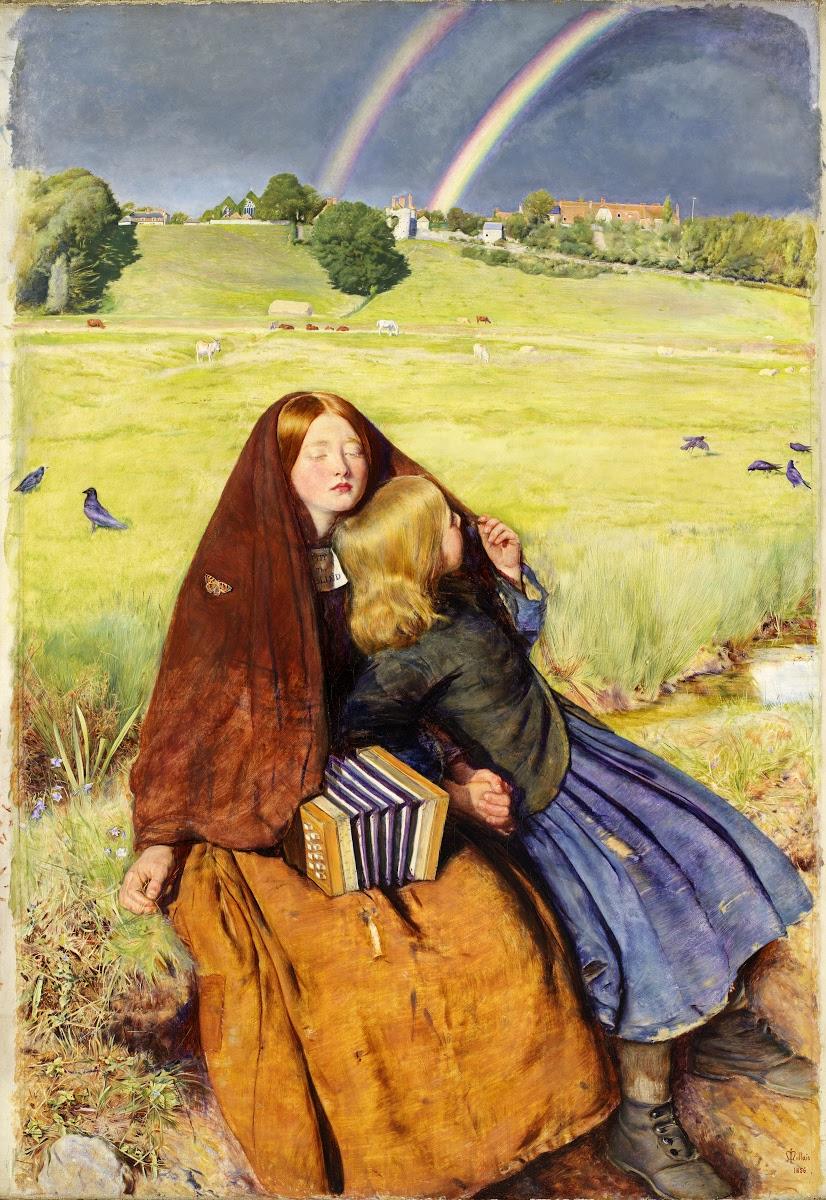 The-Blind-Girl-John-Everett-Millais-Pre-Raphaelite
