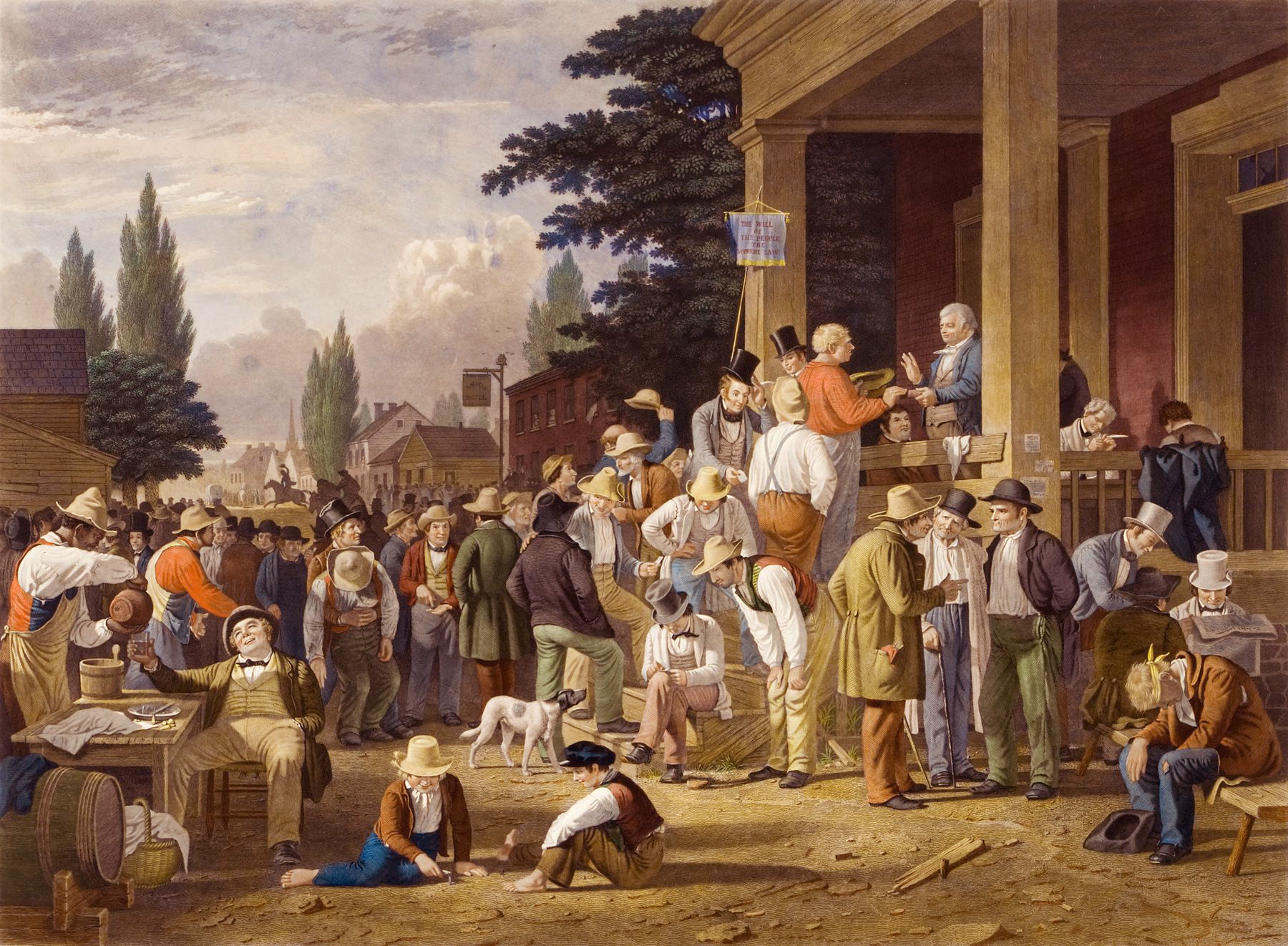 County-Election-George-Caleb-Bingham-1846