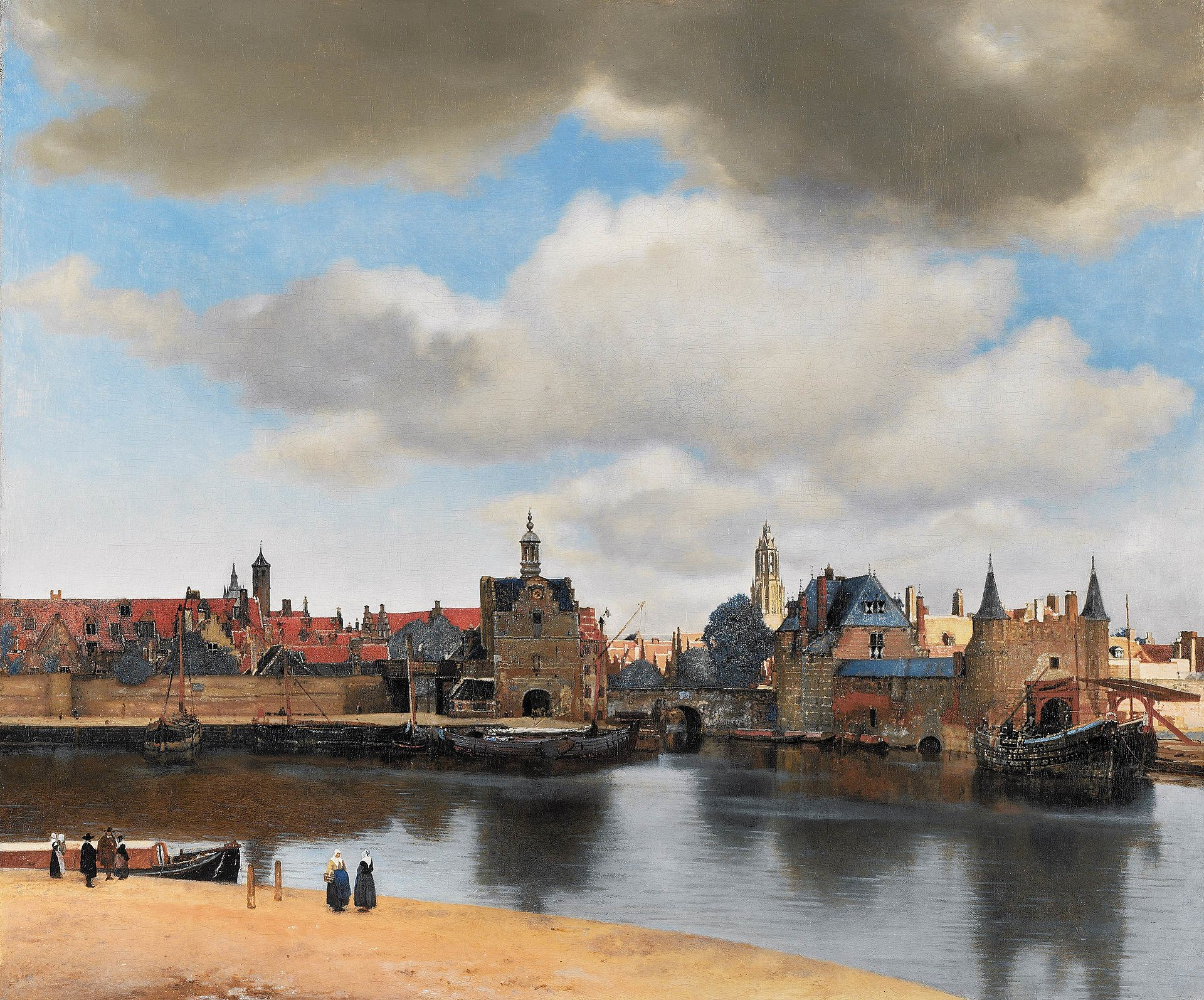 Middle-Land-Vermeer-Dutch-Painting