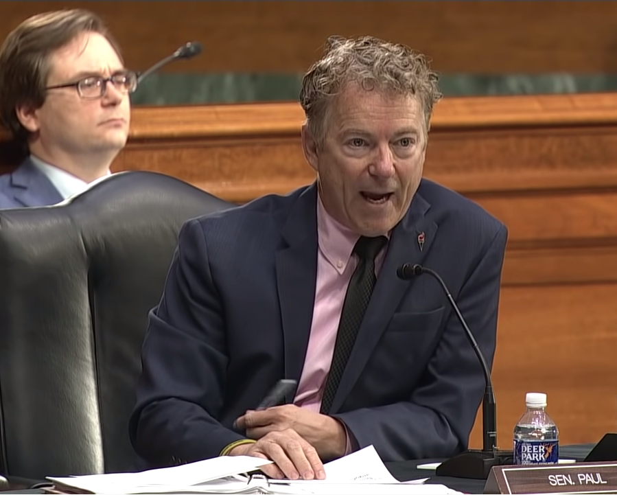 Middle Land-Senator Rand Paul-Dr. Anthony Fauci -Chinese Wuhan Lab-COVID-19
